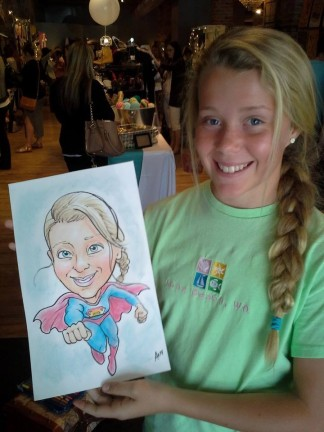 Salt Lake City Party Caricaturist