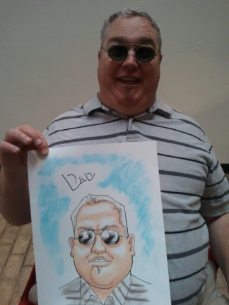 Salt Lake City Party Caricature Artist
