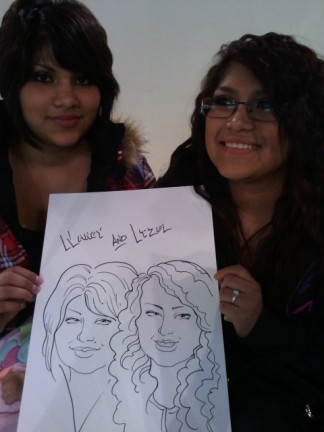 Salt Lake City Party Caricature Artists