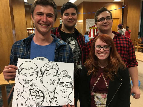 Allentown Party Caricatures
