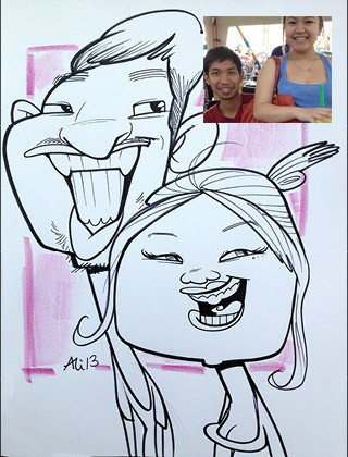 The Poconos Party Caricature Artists
