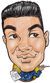Party Caricature Artist Armando