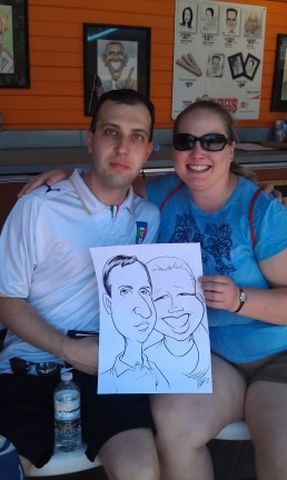 Toledo Party Caricaturist
