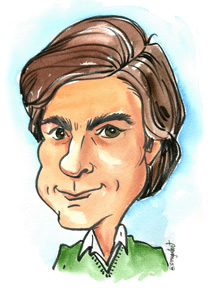 Gift Caricature Artist Bill