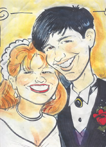 Clarksburg Party Caricature Artist