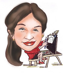 Party Caricature Artist Blanca