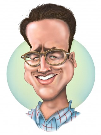 Party Caricature Artist Bradley