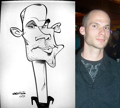 San Diego Party Caricature Artist