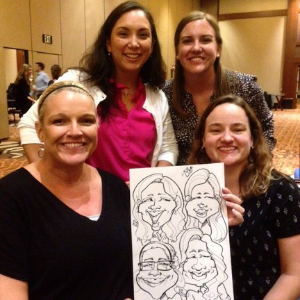 Dayton Party Caricatures