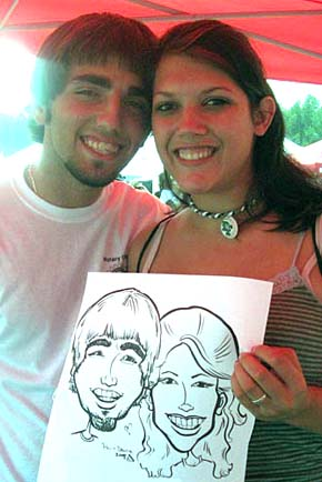 Greenville / Spartanburg Party Caricatures