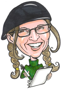 Party Caricature Artist Cathy