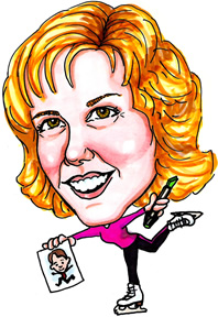 Party Caricature Artist Cheri
