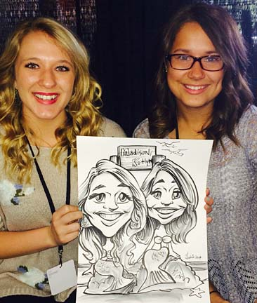 Dallas-Ft Worth Party Caricaturist