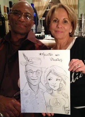Ft Lauderdale Party Caricature Artists