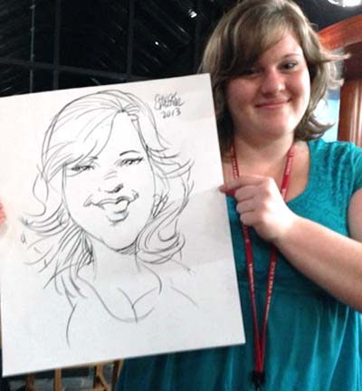 Rockland Party Caricaturist
