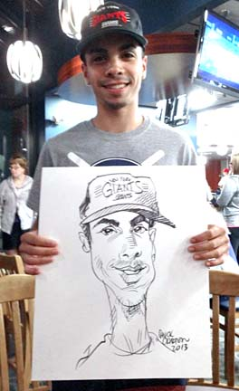 Rockland Party Caricature Artist