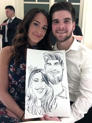 Rockland Party Caricature Artists