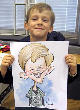 Philadelphia Party Caricaturist