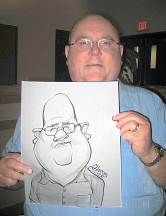 Philadelphia Party Caricatures
