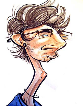 Party Caricature Artist Colin