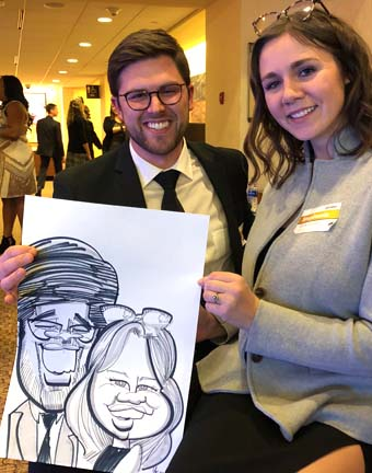 Muskegon Party Caricature Artists