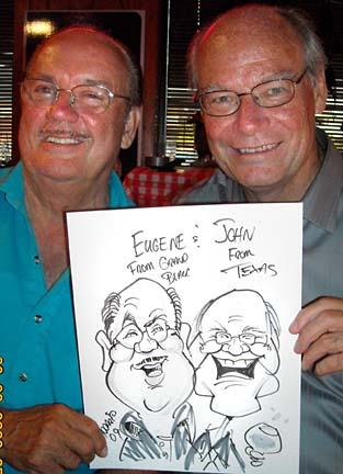 Detroit Party Caricaturist