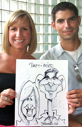 Detroit Party Caricature Artist