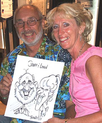 Detroit Party Caricature Artists