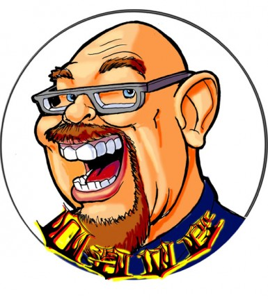 Gift Caricature Artist Dave