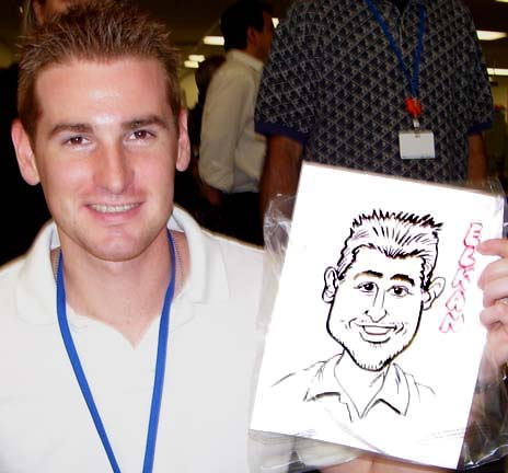 Newark Party Caricaturist