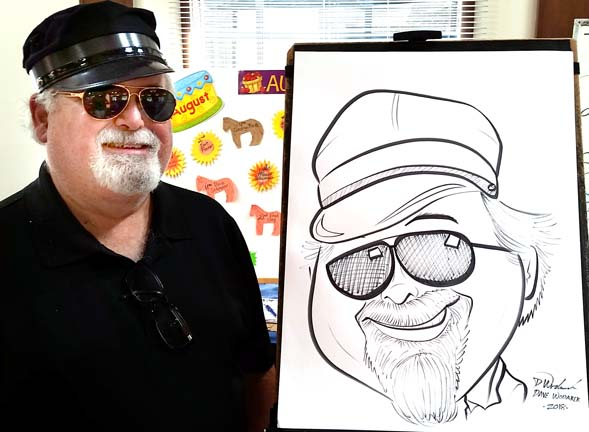 Muskegon Party Caricature Artist