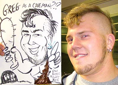 Rochester Party Caricaturist