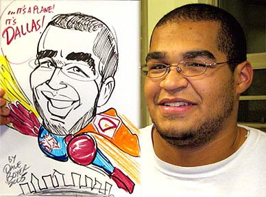 Rochester Party Caricature Artist
