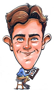 Party Caricature Artist Devin