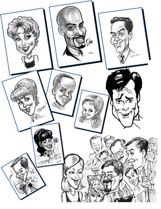 Tulsa Party Caricaturist