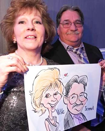 Worcester Party Caricature Artist