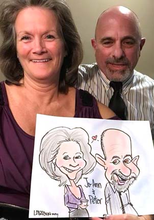 Worcester Party Caricatures