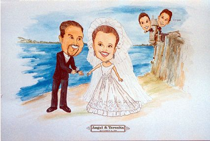Hartford Gift Caricatures