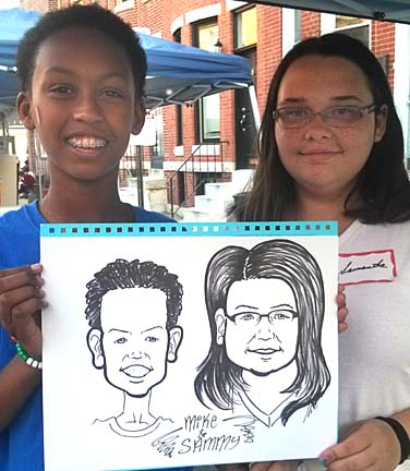 Baltimore Party Caricaturist