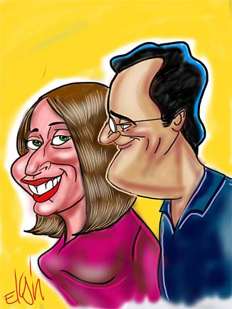 New York City - Manhattan Gift Caricatures