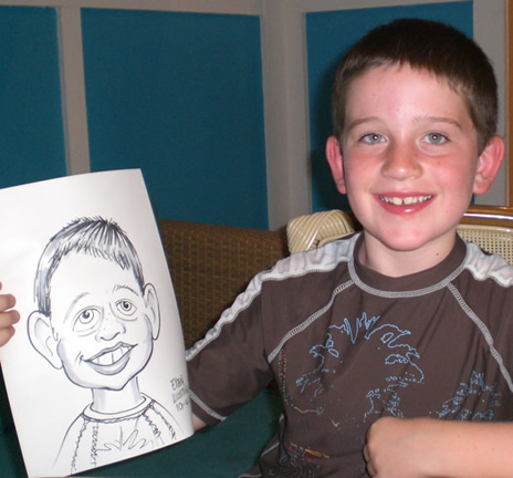 Chicago Party Caricatures