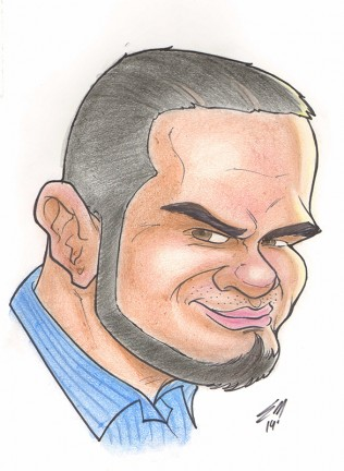 Party Caricature Artist Erick