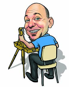 Party Caricature Artist Eric