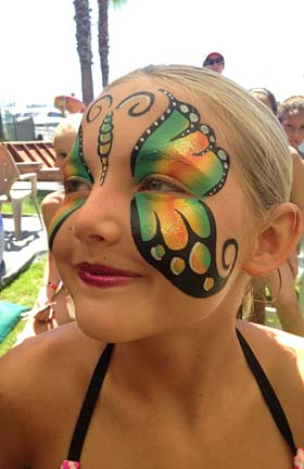 Orange County Face Painter Caricature Artists