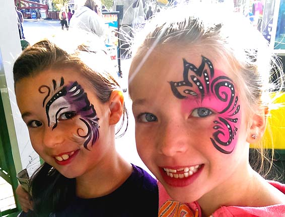 Danbury Face Painter Artist