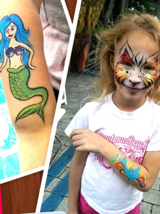 Miami Face Painter Artist
