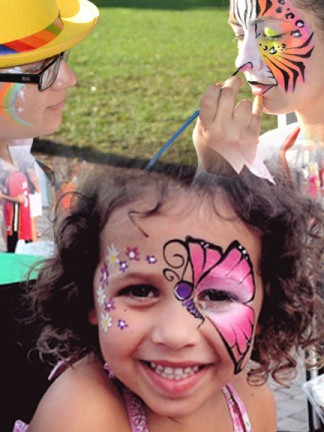 Miami Face Painter Caricature Artists