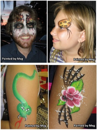 Tampa Face Painter Caricature Artists