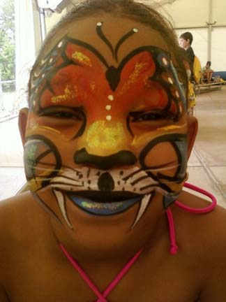 Raleigh / Durham / Chapel Hill Face Painter Caricaturist