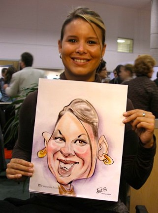 Montréal Party Caricaturist